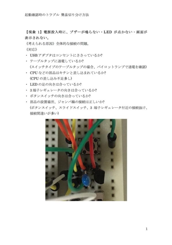 IchigoJamトラブルシューティング資料 イメージ画像